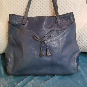 🦋Vintage Anya Hindmarch Blue Handbag